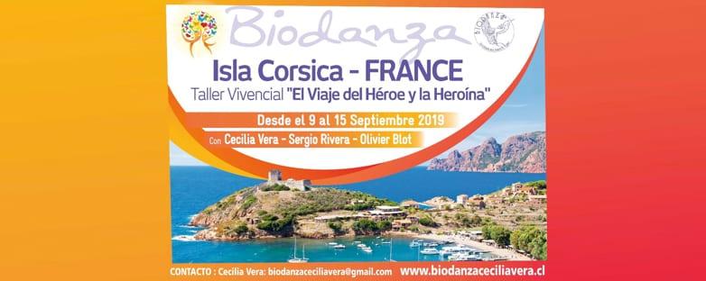 Biodanza en ISLA CORSICA – Francia